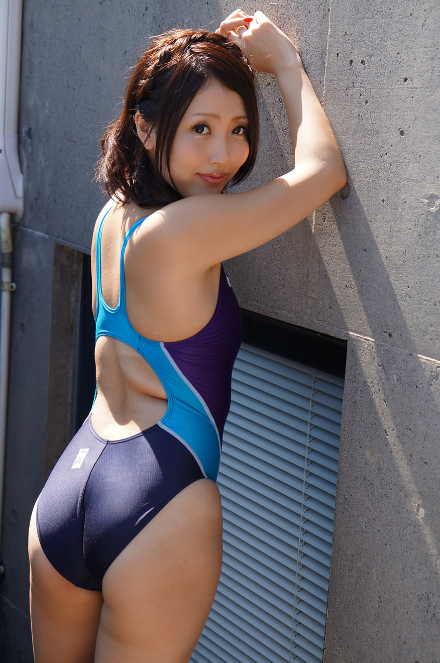 Mao Ito Purple Swimsuit Asian Onecoolthing Today